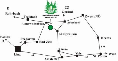 Jagdmärchenpark Hirschalm, Unterweißenbach