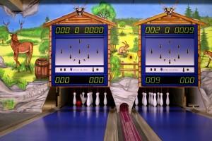 Die Hirschalm-Almhütte sorgt mit 4 Kegel-/Bowlingbahnen und einem Indoorspielbereich für gute Unterhaltung.
