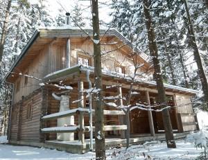 Blockhaus Luxus Winter 2014