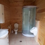 Johannesweghütte WC & Dusche